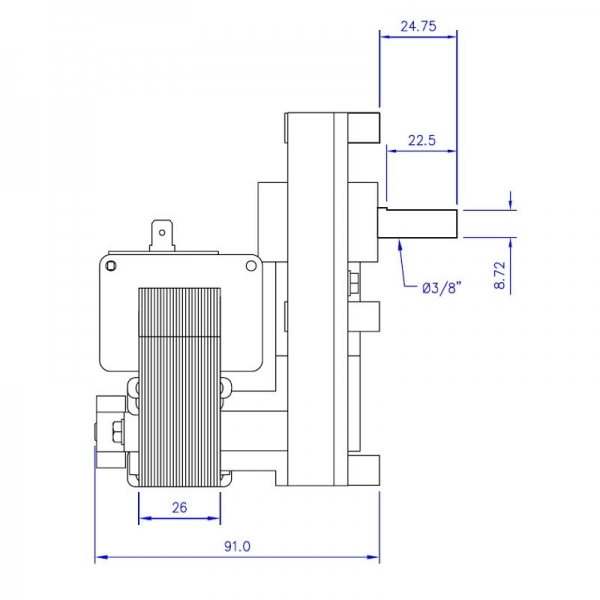 Motoriduttore mellor 2 rpm ecoteck montegrappa ecoforest for Idrosally edilkamin prezzo